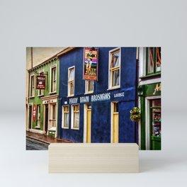Paddy Bawn Brosnans Bar in Dingle Mini Art Print