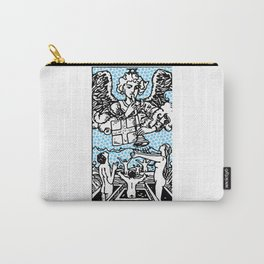 Modern Tarot Design - 20 Judgement Carry-All Pouch
