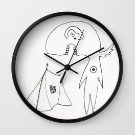 Arcane Foreigner Wall Clock