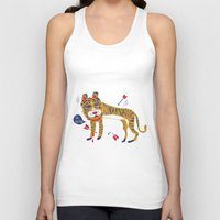 tiger Tank Tops featuring tiger by echo3005