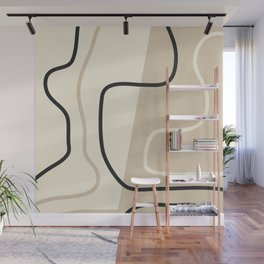 Abstract Line Wall Mural