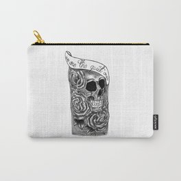 We Are The Quiet Ones Tattoo Carry-All Pouch