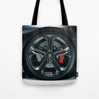 lamborghini Tote Bags featuring Lamborghini Sesto Elemento  by Spyck