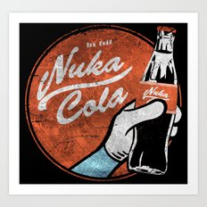 NUKA COLA FALLOUT  Art Print