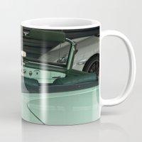 car Mugs featuring Car by Vlad&Lyubov