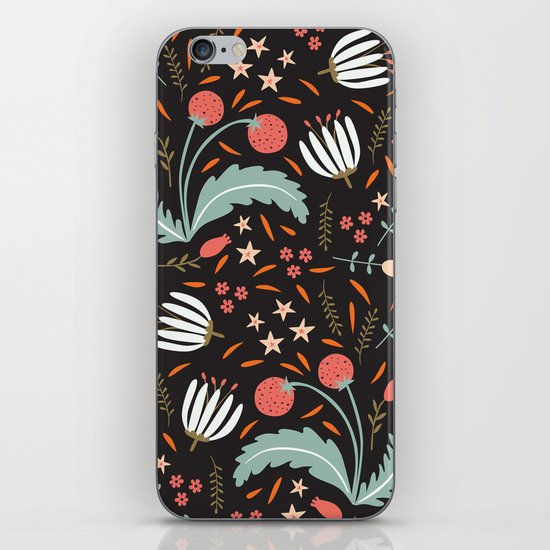 Floral Fusion iPhone & iPod Skin
