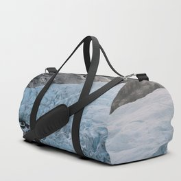Blue Ice Glacier range in Norway - Landscape Photography Duffle Bag