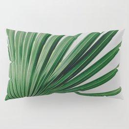 Palm Leaf Detail Pillow Sham