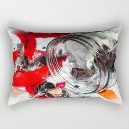 Christmas Candy Jar Rectangular Pillow