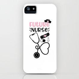 Future Nurse iPhone Case