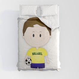 Football Copa Boy Brazil 2014 Comforters