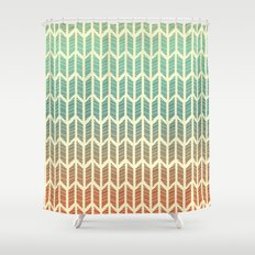 Quill Pattern Shower Curtain