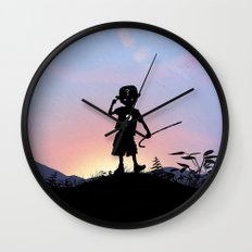 Riddler Kid Wall Clock