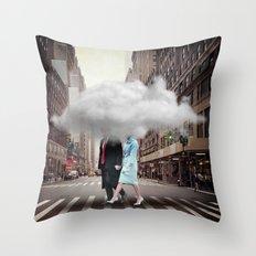 Under a Cloud Throw Pillow