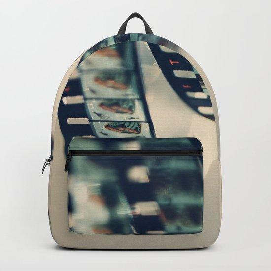 super 8 film Backpack