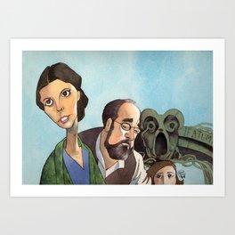 Pan's Labyrinth - Trio Art Print