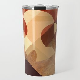 Abstrato Cobre 01 Travel Mug