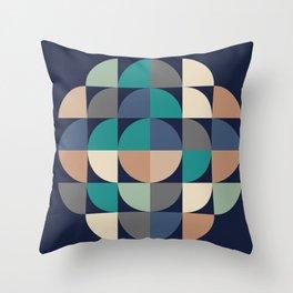 Gestalt Geometric Throw Pillow