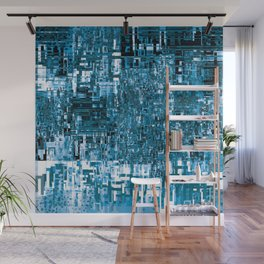 Circuitry Abstract Wall Mural