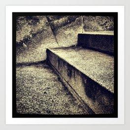 'SIMPLE STEPS' Art Print