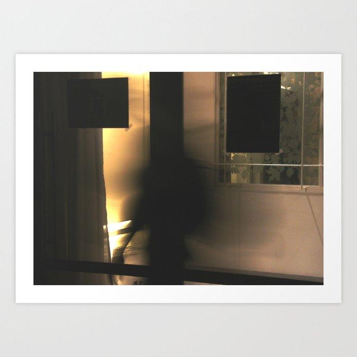 One ghost Art Print