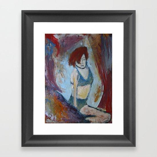 'Burlesque No. 1' Framed Art Print
