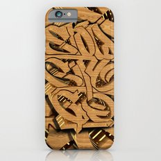 3D GRAFFITI - SLOW CITY GO Slim Case iPhone 6s