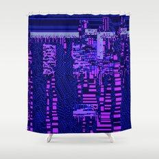 taintedcanvas162 Shower Curtain