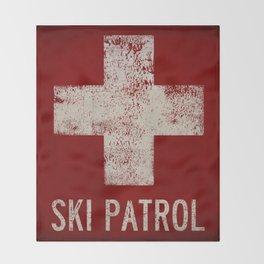 Ski Patrol Blanket Native Vermont Throw Blanket