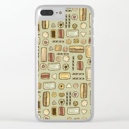 cookies green Clear iPhone Case