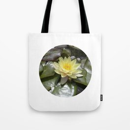 yellow water lily VII Tote Bag