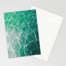 Water Reflecting Light Stationery Cards