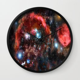 Orion Nebula Deep Colors Wall Clock