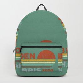 Retro Biden Harris Backpack
