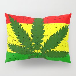 Rastafarian Flag Pillow Sham