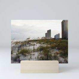 Alabama Gulf Coast With Sun Rey Mini Art Print
