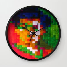 Fauvism Wall Clock