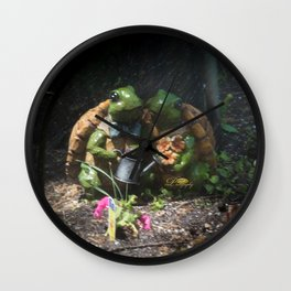 Together through thick and thin Wall Clock