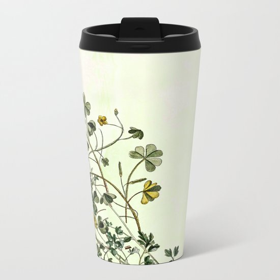 This is how a garden grows Metal Travel Mug