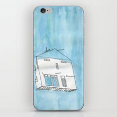 Tsunami House iPhone & iPod Skin