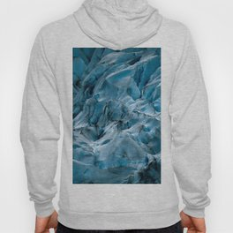 Blue Ice Glacier in Norway - Landscape Photography Hoody