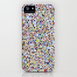 Square Outlines iPhone Case