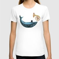 cloud T-shirts featuring Cloud Maker  by Terry Fan