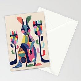 Mr Kangaroo Stationery Cards