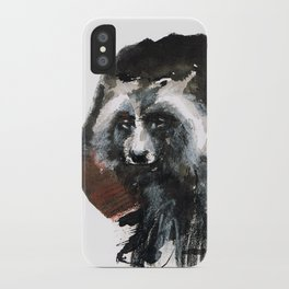 Totem  Racoon dog iPhone Case