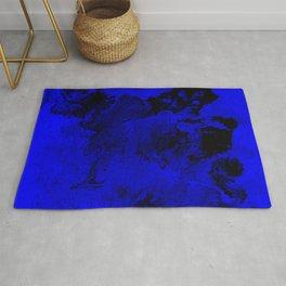 Deep Blue Ocean Rug