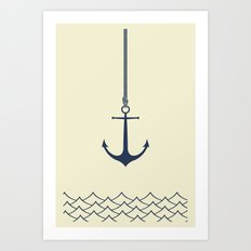 Anchors Away Art Print