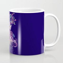 Purple sugar skull Coffee Mug