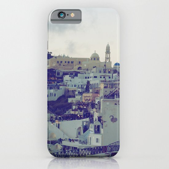 Fira at Dusk V iPhone & iPod Case