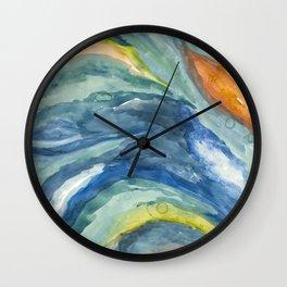 Fluid Texture Wall Clock